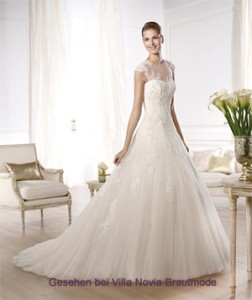 Brautkleid Modell Ocelada von Pronovias Glamour Collection 2014