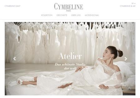 Cymbeline Paris Webseite