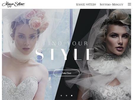 Maggie Sottero Webseite